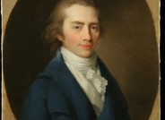 Johann Friedrich August Tischbein, Christoph Wilhelm Hufeland, 1798, Öl auf Leinwand, FDH, Inv. Nr. IV-1950-006 Dokumentation des Vorzustandes (Foto David Hall)