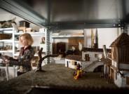 Szenenbildmodelle. Foto: Gordon Welters für VolkswagenStiftung
