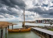 Der Hafen Althagen am Ostseebad Ahrenshoop. Mecklenburg-Vorpommern, Darß/Fischland, Foto: Gerhard Westrich für VolkswagenStiftung
