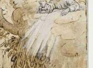 Detail nach der Restaurierung: Abraham van Diepenbeck, Christus am Ölberg, Kunsthalle Bremen, Inv. Nr. 1024f, Die Kulturgutscanner-Rosenau