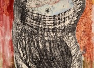 Gerhard Altenbourg, Bedrängnis: in der Hoffnung schwebend, 1967, Zeichnung, Inv.-Nr. SGA 4575-Z (WV 67/11), Foto: PUNCTUM Bertram Kober