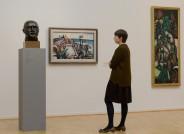 Beckmann-Raum, Hamburger Kunsthalle, Foto: Silvia Castro