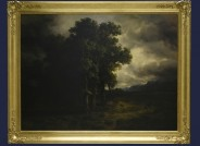 """Sammlung Schletter: """"Eichen im Sturm"""" von Alexandre Calame, 1842, Foto: Museum der bildenden Künste Leipzig"""